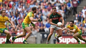 Action from the 2015 Donegal-Mayo All-Ireland