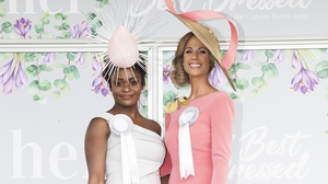 The winner of the Best Dressed title went to Pamela Uba from Salthill and Best Hat was won by Eileen Lundon from Gort.