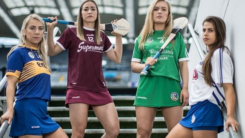 Tipperary's Clodagh Quirke, Galway's Caitriona Cormican, Limerick's Marian Quaid and Waterford's Niamh Rockett