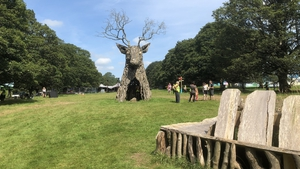 Many people travelling to the event complained of major delays on the country roads leading to Curraghmore