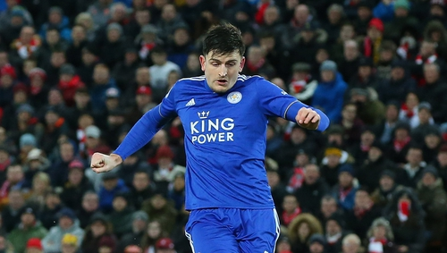 Harry Maguire is on his way to Manchester United