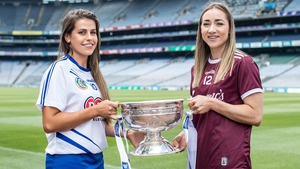 Caitriona Cormican (R) and Niamh Rockett of Waterford