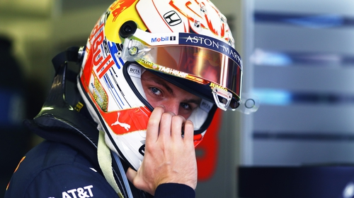 Red Bull star Max Verstappen is in high demand