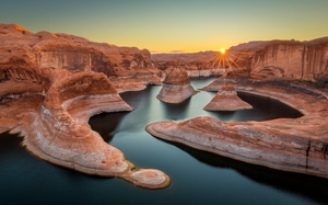Lake Powell, Reflection Canyon. Pic: KCOT