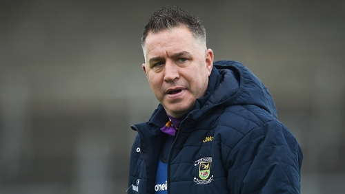 Magee's Crokes side faced Connolly's Vincents in June