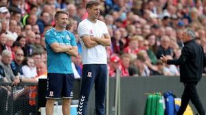Jonathan Woodgate and Robbie Keane