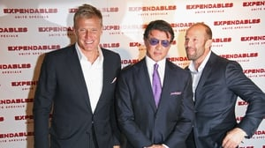 Lundgren, Stallone, and Jason Statham