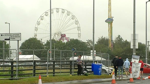 Man critical after taking substance at Cork festival