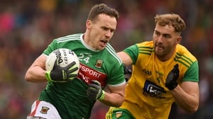 Substitute Andy Moran was was an influential figure for Mayo in Castlebar