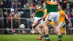 O'Shea scores Kerry's second goal at Navan