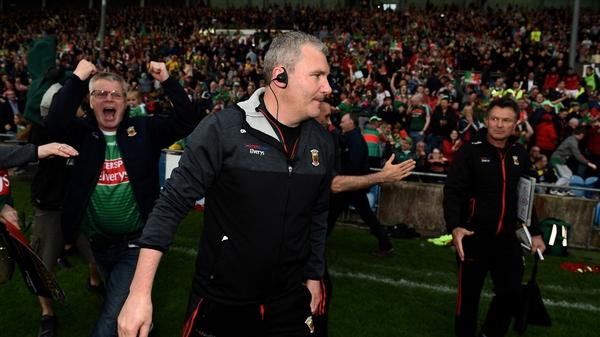 Happy man: Mayo manager James Horan