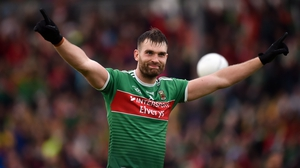 O'Shea was a dominant figure in the middle third of the pitch in Mayo's four-point victory over Donegal