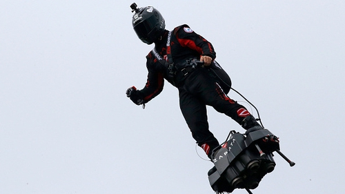 Hoverboard pioneer succeeds in crossing English Channel on second attempt