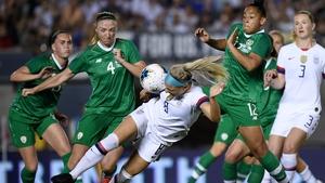 Ireland were 3-0 at the break