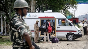"Tourists and students have been advised to leave Kashmir ""immediately"""