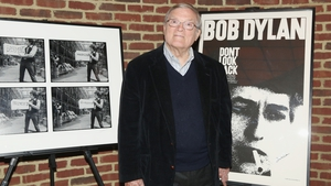 D.A. Pennebaker at a the New York screening and Q&A of Don't Look Back in May 2016