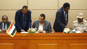 The deal comes after difficult negotiations between the leaders of mass protests and the Sudanese army