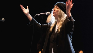 Patti Smith on the main stage at All Together Now