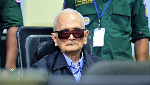 Khmer Rouge's chief ideologist Nuon Chea dies