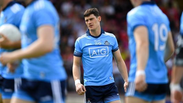 Diarmuid Connolly lat played for Dublin 686 days ago