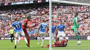 Matip heading Liverpool level
