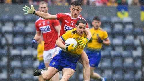 Roscommon struck four goals in a damp Páirc Ui Rinn to sign off with a win