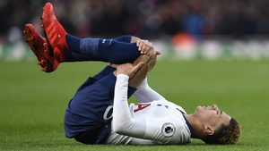 Alli has had persistent hamstring problems of late