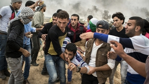 Israeli border protests in Gaza make for tense scenes in Garry Keane and Andrew McConnell's brilliant film