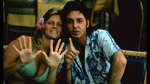 Linda and Paul in St Tropez in the 1970s