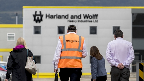Harland and Wolff employed more than 30,000 people during Belfast's industrial heyday