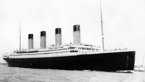 The Titanic was built in Belfast and set off on its maiden and only voyage in 1912