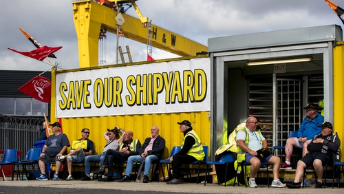 Workers have vowed to continue their occupation of the shipyard