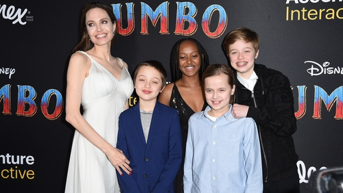 """Jolie: """"I know parents across the country are challenged with homeschool and maybe that's more a challenge for the parents than the children."""""""