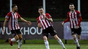 David Parkhouse hit four goals for Derry City in their win over Waterford