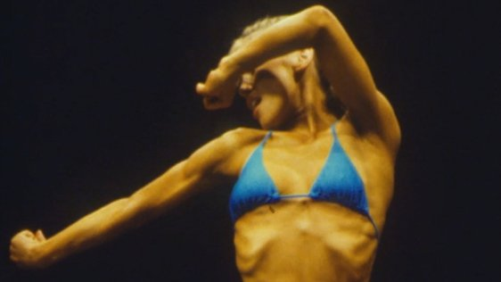 Heather Lucas Winner of the Women's Bodybuilder Contest (1984)