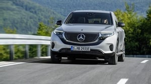 The first electrified Mercedes SUV is expected to cost around €90,000.