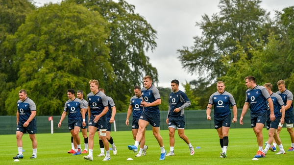 Ireland travel to Portugal next week for a training camp