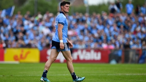 Diarmuid Connolly featured in his first championship game for almost 23 months on Sunday