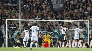Ajax drew 2-2 with PAOK on Tuesday night