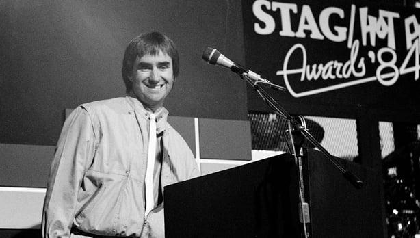 Chris de Burgh, Stag/Hot Press award (1984)