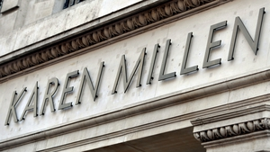 Karen Millen operates two stores, one at Dundrum Town Centre and the other at Kildare Village, and 16 concession stores in Ireland