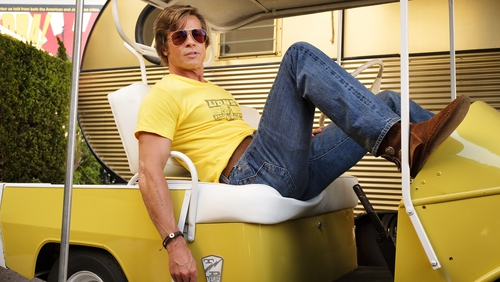 Brad Pitt as the terminally laidback Cliff Booth in Once Upon a Time in Hollywood