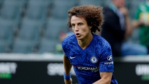 Luiz was at Chelsea's Cobham training ground, but it is understood he did not take part in the main training session