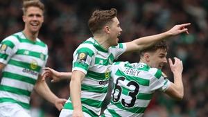 James Forrest got the crucial away goal for Celtic