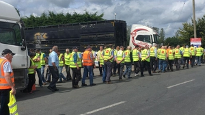 Discussions began last week after several weeks of pickets outside meat plants