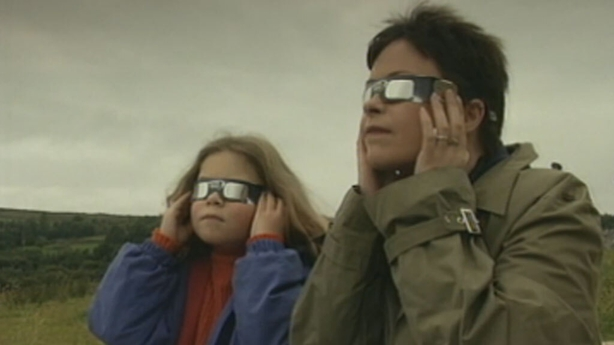 Eclipse watching in the west of Ireland (1999)