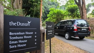 The family had been staying at the Dusun Resort, which is about an hour outside Kuala Lumpur