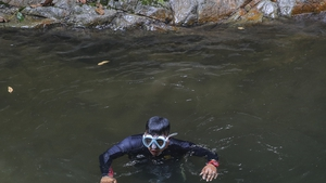 Divers have been searching local rivers for any signs
