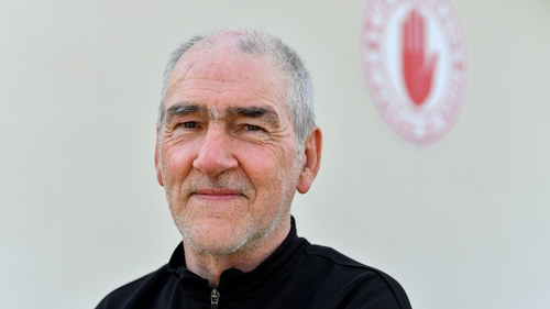 Mickey Harte photographed at Tyrone's centre of excellence near his home in Ballygawley recently