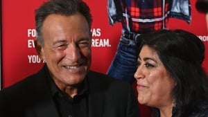 Blinded by the Light director Gurinder Chadha and Bruce Springsteen
